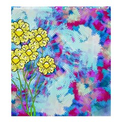 Backdrop Background Flowers Shower Curtain 66  X 72  (large)