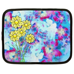 Backdrop Background Flowers Netbook Case (xxl)