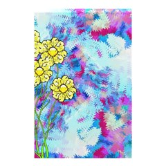Backdrop Background Flowers Shower Curtain 48  X 72  (small)