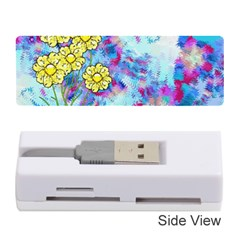 Backdrop Background Flowers Memory Card Reader (stick)