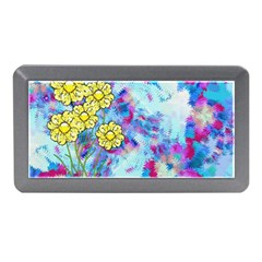 Backdrop Background Flowers Memory Card Reader (mini)