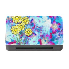 Backdrop Background Flowers Memory Card Reader With Cf
