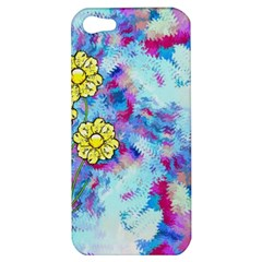 Backdrop Background Flowers Apple Iphone 5 Hardshell Case