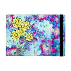 Backdrop Background Flowers Apple Ipad Mini Flip Case