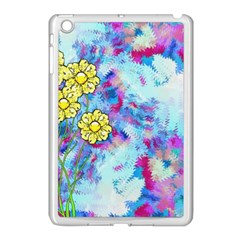 Backdrop Background Flowers Apple Ipad Mini Case (white)