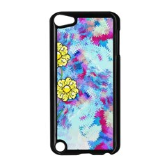 Backdrop Background Flowers Apple Ipod Touch 5 Case (black)