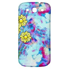 Backdrop Background Flowers Samsung Galaxy S3 S Iii Classic Hardshell Back Case