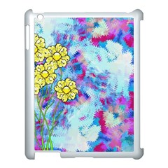 Backdrop Background Flowers Apple Ipad 3/4 Case (white)