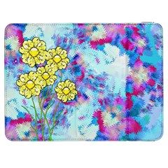 Backdrop Background Flowers Samsung Galaxy Tab 7  P1000 Flip Case