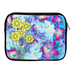 Backdrop Background Flowers Apple Ipad 2/3/4 Zipper Cases
