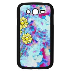 Backdrop Background Flowers Samsung Galaxy Grand Duos I9082 Case (black)