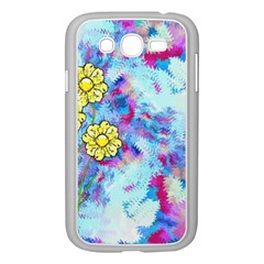 Backdrop Background Flowers Samsung Galaxy Grand Duos I9082 Case (white)