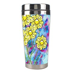 Backdrop Background Flowers Stainless Steel Travel Tumblers