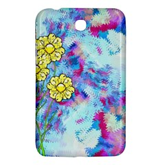 Backdrop Background Flowers Samsung Galaxy Tab 3 (7 ) P3200 Hardshell Case