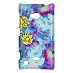 Backdrop Background Flowers Nokia Lumia 720