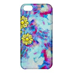 Backdrop Background Flowers Apple Iphone 5c Hardshell Case