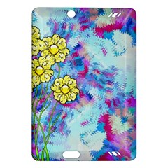 Backdrop Background Flowers Amazon Kindle Fire Hd (2013) Hardshell Case