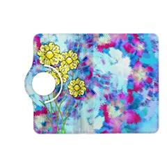 Backdrop Background Flowers Kindle Fire Hd (2013) Flip 360 Case