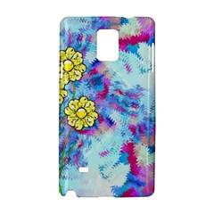 Backdrop Background Flowers Samsung Galaxy Note 4 Hardshell Case