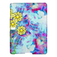Backdrop Background Flowers Samsung Galaxy Tab S (10 5 ) Hardshell Case