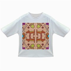 Dog Abstract Background Pattern Design Infant/toddler T Shirts
