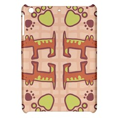 Dog Abstract Background Pattern Design Apple Ipad Mini Hardshell Case