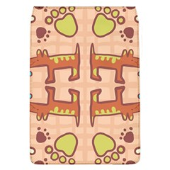 Dog Abstract Background Pattern Design Flap Covers (l)