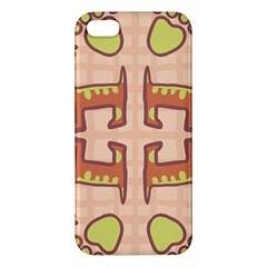 Dog Abstract Background Pattern Design Iphone 5s/ Se Premium Hardshell Case