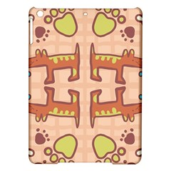 Dog Abstract Background Pattern Design Ipad Air Hardshell Cases