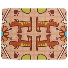 Dog Abstract Background Pattern Design Jigsaw Puzzle Photo Stand (rectangular)