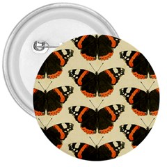 Butterfly Butterflies Insects 3  Buttons