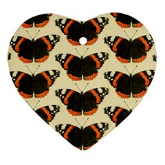 Butterfly Butterflies Insects Ornament (heart)