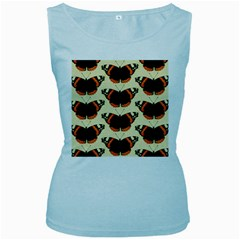 Butterfly Butterflies Insects Women s Baby Blue Tank Top