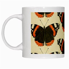 Butterfly Butterflies Insects White Mugs