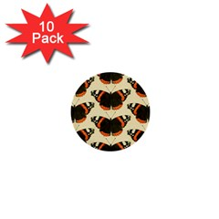 Butterfly Butterflies Insects 1  Mini Buttons (10 Pack)