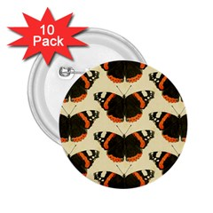 Butterfly Butterflies Insects 2.25  Buttons (10 pack)
