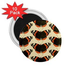 Butterfly Butterflies Insects 2.25  Magnets (10 pack)