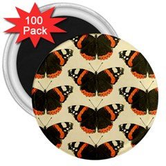 Butterfly Butterflies Insects 3  Magnets (100 Pack)