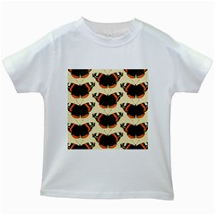 Butterfly Butterflies Insects Kids White T Shirts