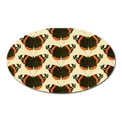 Butterfly Butterflies Insects Oval Magnet