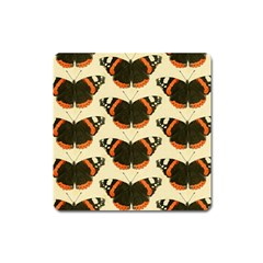 Butterfly Butterflies Insects Square Magnet