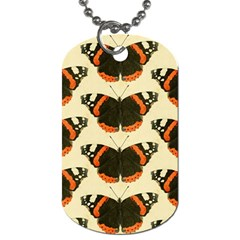 Butterfly Butterflies Insects Dog Tag (two Sides)