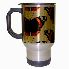 Butterfly Butterflies Insects Travel Mug (silver Gray)