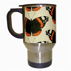 Butterfly Butterflies Insects Travel Mugs (white)