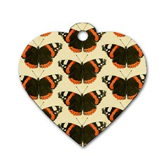 Butterfly Butterflies Insects Dog Tag Heart (one Side)
