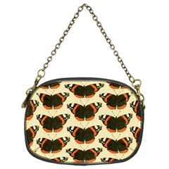 Butterfly Butterflies Insects Chain Purses (two Sides)
