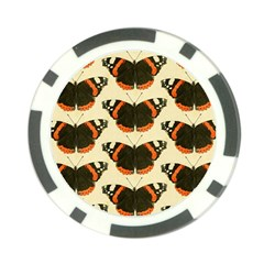 Butterfly Butterflies Insects Poker Chip Card Guard (10 Pack)