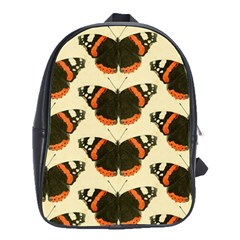 Butterfly Butterflies Insects School Bags(large)