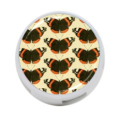 Butterfly Butterflies Insects 4 Port Usb Hub (two Sides)