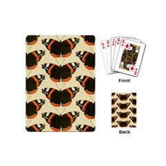 Butterfly Butterflies Insects Playing Cards (Mini)